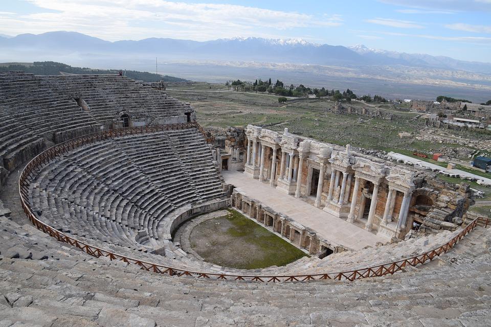 Иераполис в Памуккале