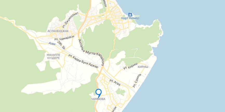 Чамьюва на карте