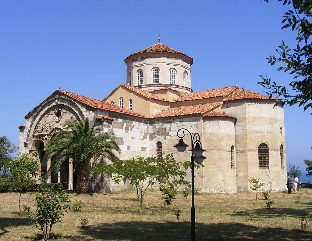 Храм Святой Софии Трабзон