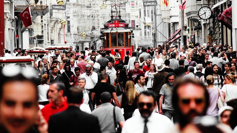 Веб-камера улица Истикляль Стамбул