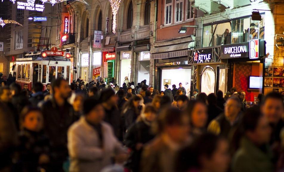 Магазины улицы Истикляль