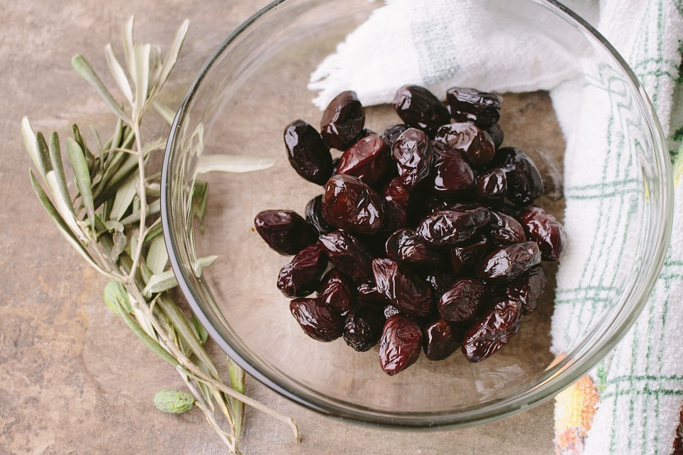 вяленые маслины